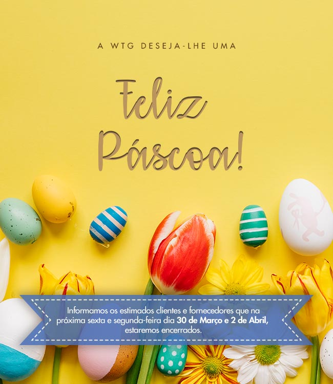 Feliz Páscoa 2018 - WTG
