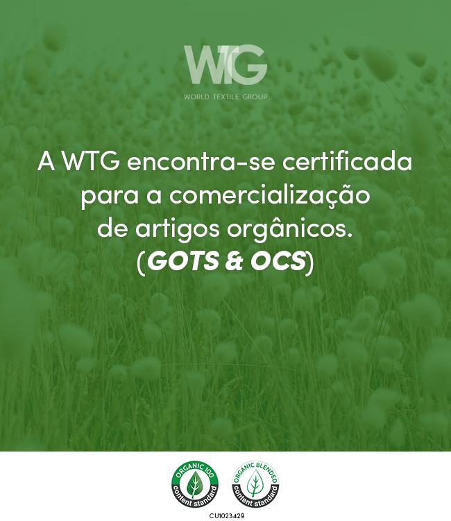 WTG - CERTIFICADO GOTS OCS